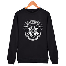 New Hogwarts Print Hoodies men Autumn tumblr Winter High Quality Cotton Sweatshirt men in Streetwear Style Clothes(China)