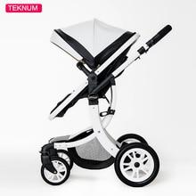 Free shipping Teknum 2 In 1 stroller High Landscape Baby Str