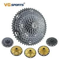 VG Sports Mountain Bike Parts MTB 11 12 Speed Cassette 11S 12S Velocidade 46T 50T 52T Gold Golden Black Freewheel Sprocket Cog