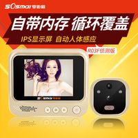 3 IPS Digital Peephole Smart Door Viewer With Camera Photo Function Home Security Night Vision Doorbell Motion Detection