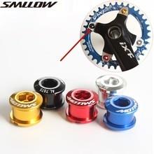5PCS MTB Bicycle Chainwheel Screws Cycling Bike M8 Alloy Bolts Single/Double Dental Plate Nail Super Light Crankset Screw