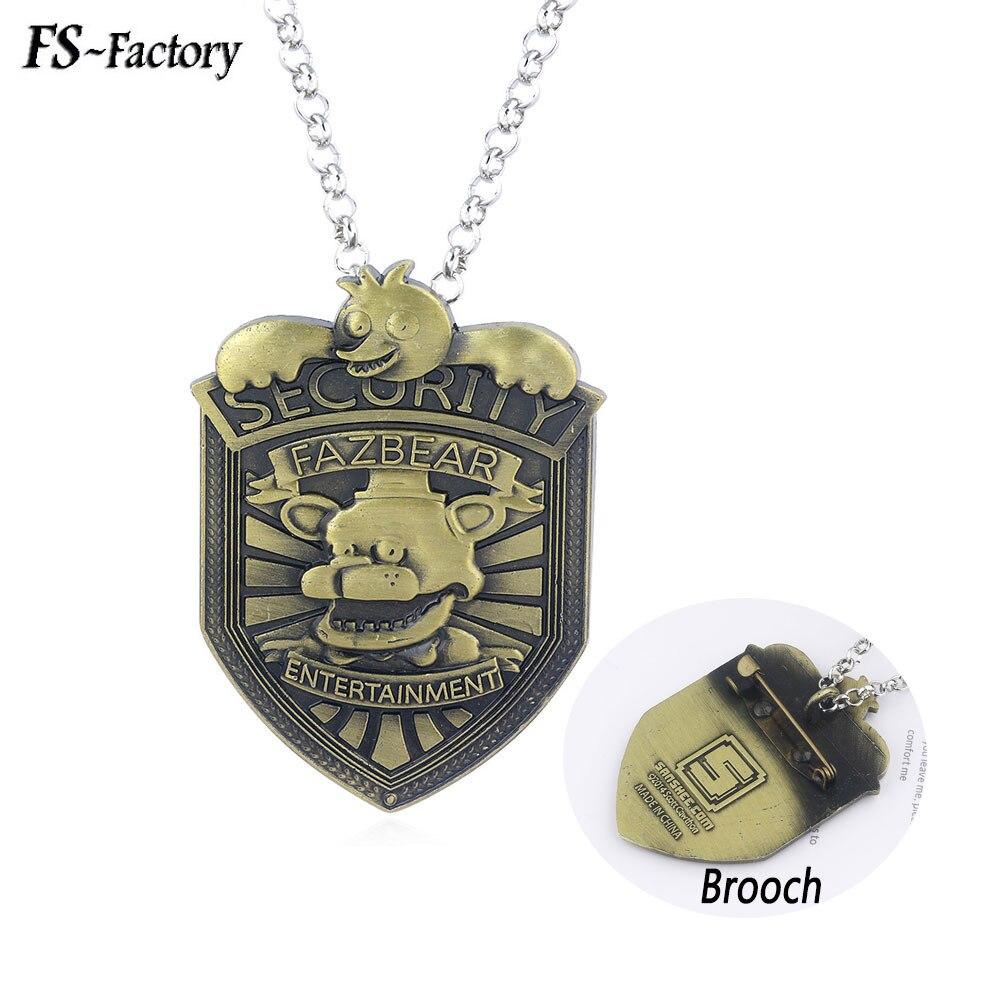 "New Five Nights at Freddy/'s Fazbear Security Badge Pin 2/"" Badge"