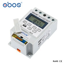 New KG316T 25A Intelligent Microcomputer Programmable Electronic Timer Time Switch Relay Controller DC 12V