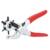 9 ''Alicates de Sacador de Cuero Rotatorio 6 Tamaños Ronda Agujero Perforador Herramienta Perforadora para Tarjeta Correa de la Correa de Cuero LB035
