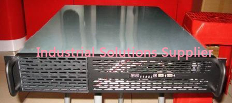 New 2U Lengthen Server Computer Case 6 Hard Drive General Atx Power Supply Server Large-Panel Rack Computer Case