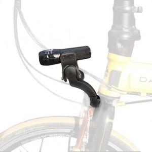 MTB BMX Bike Front Light Mount Bicycle Fork Light archmount Extension Base Flashlight Bracket Extender(China)