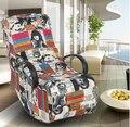 Rocking chair sofa.. Deck chair. Leisure chair. Office chair siesta