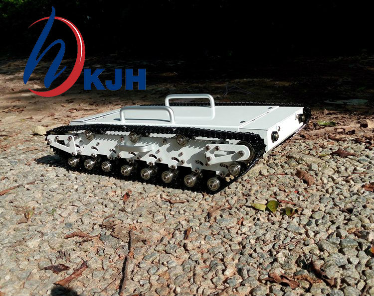 Full metal tank car chassis /All metal structure,big size load large/ obstacle-surmounting tank chassis Fast free shipping wenhsin diy metal structure tank chassis tracked robot car obstacle avoidance