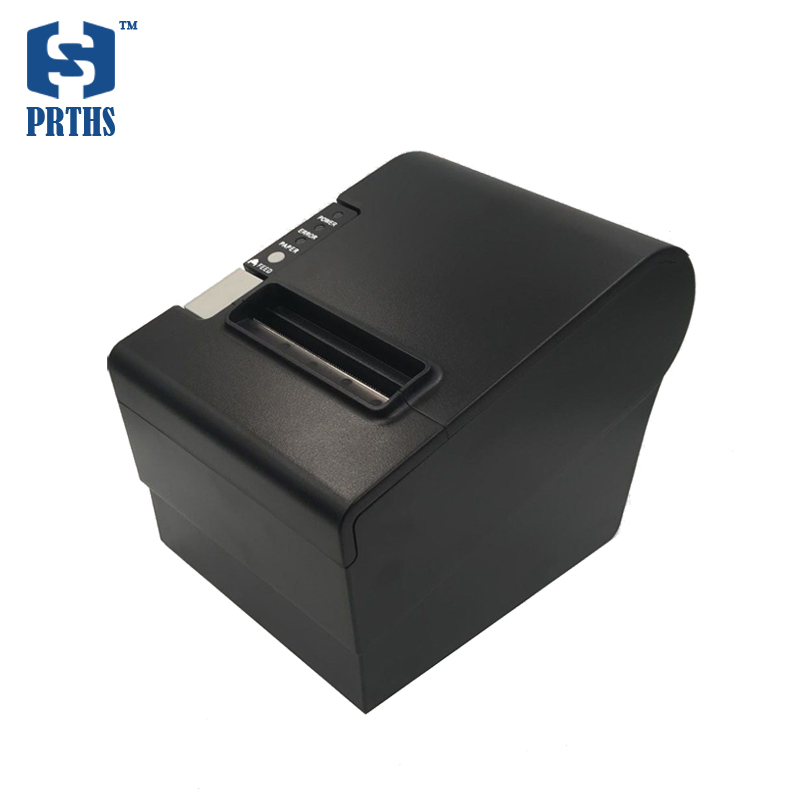 80mm RJ45 thermal receipt printer with RJ11 interface POS bill printer no need ribbon, ink cartridges for retailing business lcod t58zu pos58zu thermal receipt printer bill printing machine black