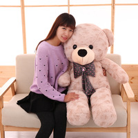 Hug bear teddy bear plush toy doll cute cartoon doll creative simulation pillow to send children as gifts filled animals
