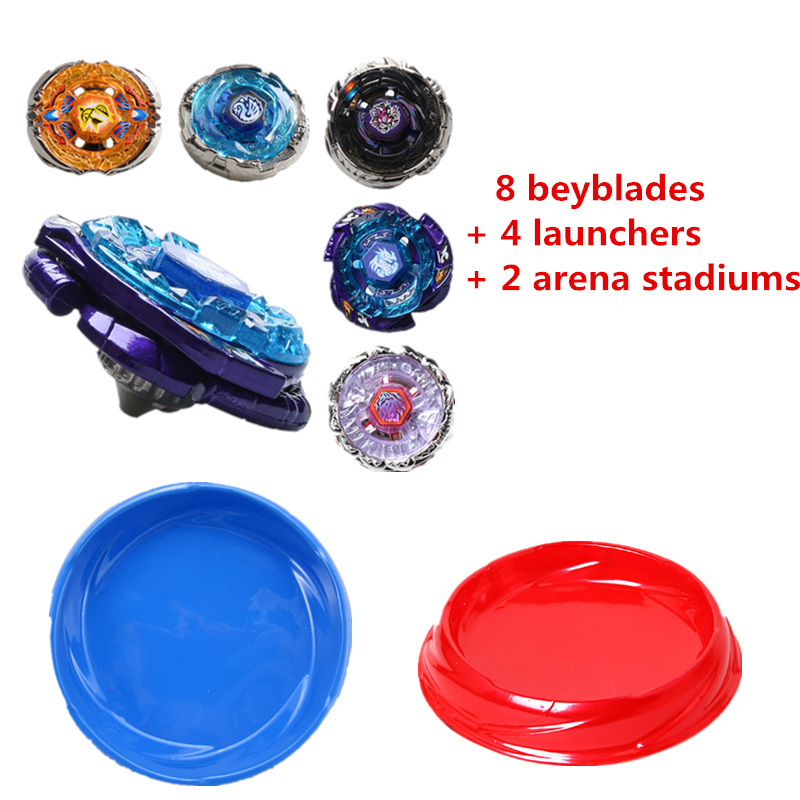 Metal Fusion beyblade bb122 With Arena Set Spinning Top Toys launcher beyblade burst stadium toys sale beyblades spare parts