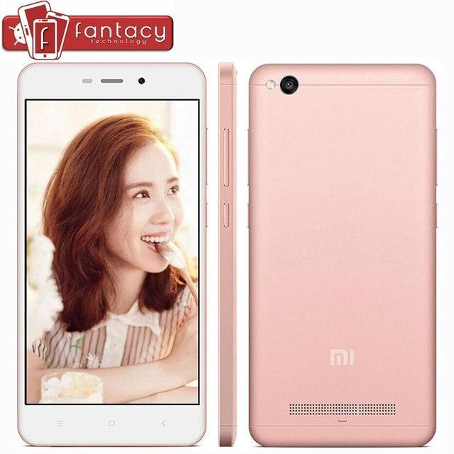 """Оригинал Xiaomi Redmi 4А Мобильный Телефон Глобальный Версия 2 Г RAM 16 Г ROM Snapdragon425 Quad Core FDD LTE 4 Г 5 """"13MP MIUI 1280x720px 8"""