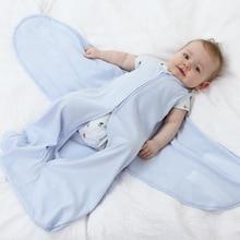 цены на Infant Sleeping Sack Boy Girl Baby Sleeping Bag Cotton Summer Short Sleeve Slaapzak Sleep Sack Kids Zipper Camping Cocoon Baby  в интернет-магазинах