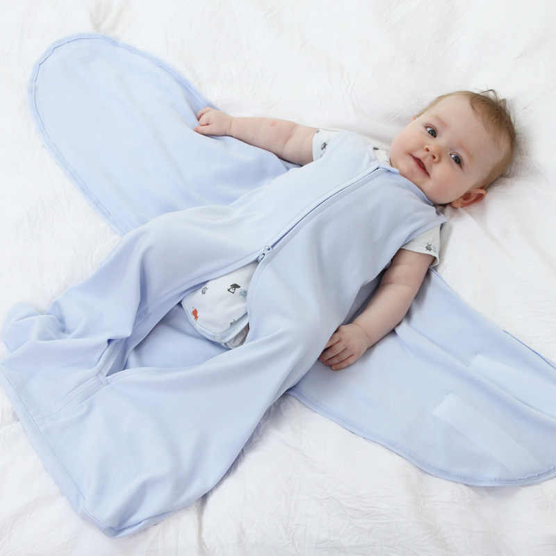 d3878159c1cf5f Detail Feedback Questions about Infant Sleeping Sack Boy Girl Baby Sleeping  Bag Cotton Summer Short Sleeve Slaapzak Sleep Sack Kids Zipper Camping  Cocoon ...
