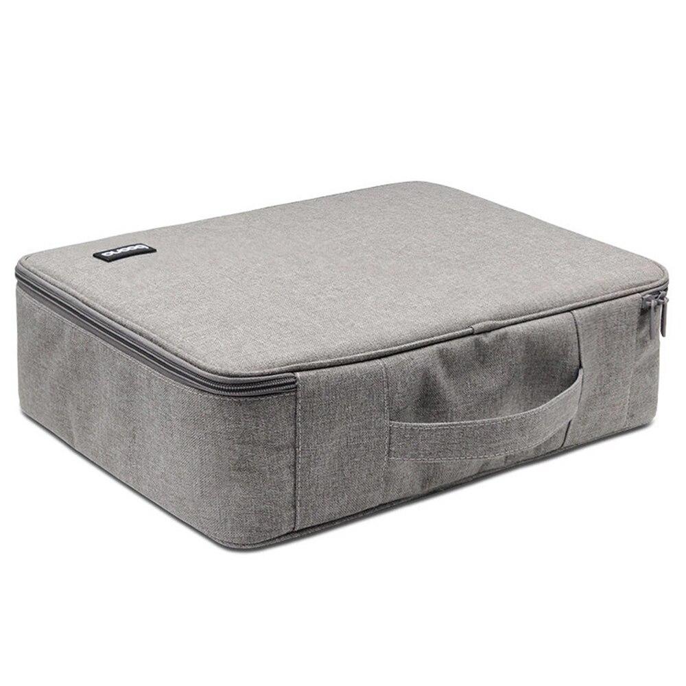Large Capacity Single layer Box Type Document Storage Handbag Men And Women Waterproof Travel Briefcase Business Innrech Market.com