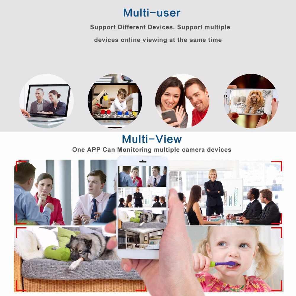 Invisible Night Version Wifi IP Mini Camera Wireless 1080P for Video Recording Support Remote Control Portable Recorder pk q7