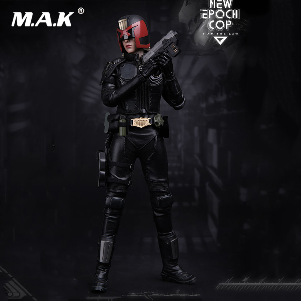 For collection 1/6 Action Figure VTS TOYS VM-013 Girl Judge Dredd Epoch Cop Collectible Doll image