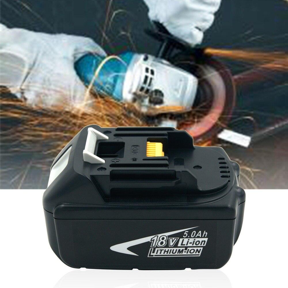 18V 5000mAh Replacement Li-ion Tools Batteries for Makita 5.0A BL1850 LXT400 BL1840 194230-4 BL1830 Cordless Drills18V 5000mAh Replacement Li-ion Tools Batteries for Makita 5.0A BL1850 LXT400 BL1840 194230-4 BL1830 Cordless Drills