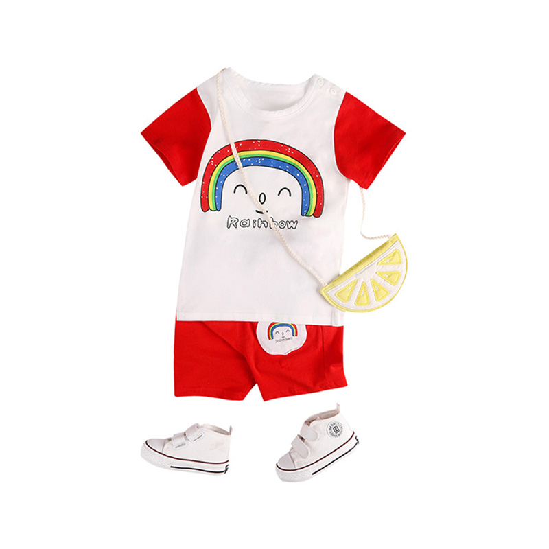 2018 Zestaw niemowlęcy Dziewczyna Lato Odzież dla noworodka - Odzież dla niemowląt - Zdjęcie 1