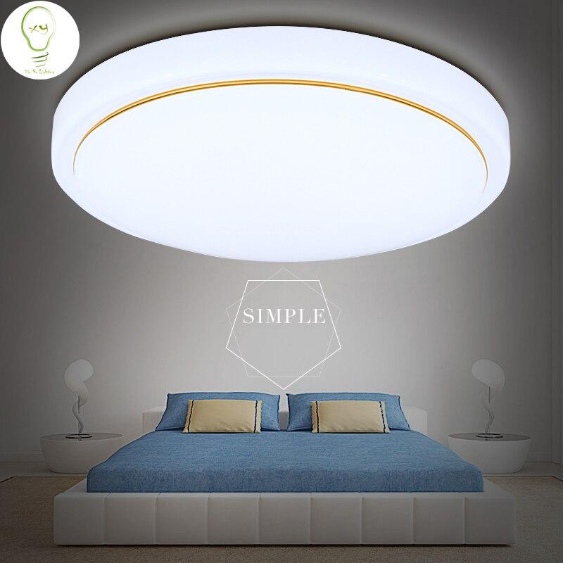 Aliexpress Com Buy Modern Acryl Led Ceiling Light With: Fashion 5W 12W 15W Acrylic Modern Round Led Ceiling Light