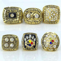 Rings in stock Fast delivery and prices for businessman1974 1975 1978 1979 2005 2008 Pittsburgh Steelers Championship Ring set
