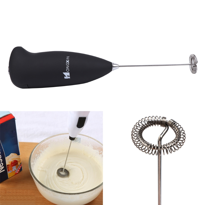 Mini Electric Milk Frother Foamer Whisk Mixer Stirrer Egg Beater Kitchen Tool
