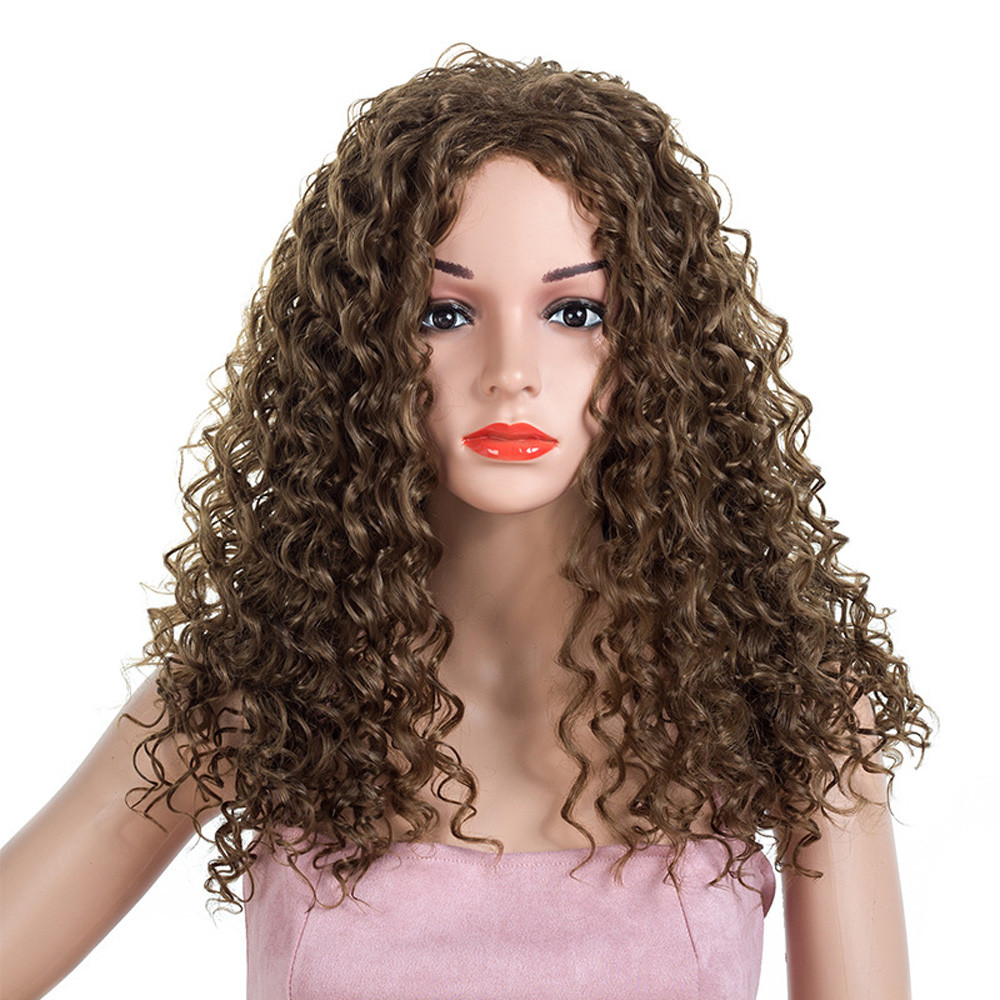 Women Fashion Lady Long Curly Purple Hair Cosplay Party Wig elastic for hair curles hair hair styling tools professional Anime