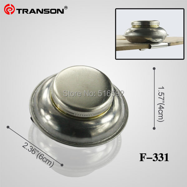 Transon 331 Single Small Mouth Stainless Steel Painting Palette Cup Dipper Container With Sealed