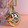Illuminati Fashion Esmalte Steampunk Tiger Necklace Pendant & Choker Necklace Men Jewelry Violetta Perfumes For Women Unhas Uk