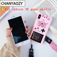 36 game Full Color Game Display phone case for iPhone 7 8 Plus X cover retro iPhone6 6S plus XS XR MAX