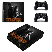 THE LAST OF US PS4 Pro Skin Sticker and 2 Controllers PS4 Pro Stickers Decal Vinyl