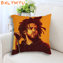 Nordic Cushion Cover Rock Rap Singer Poster Throw Pillow Case Decorative 45x45cm