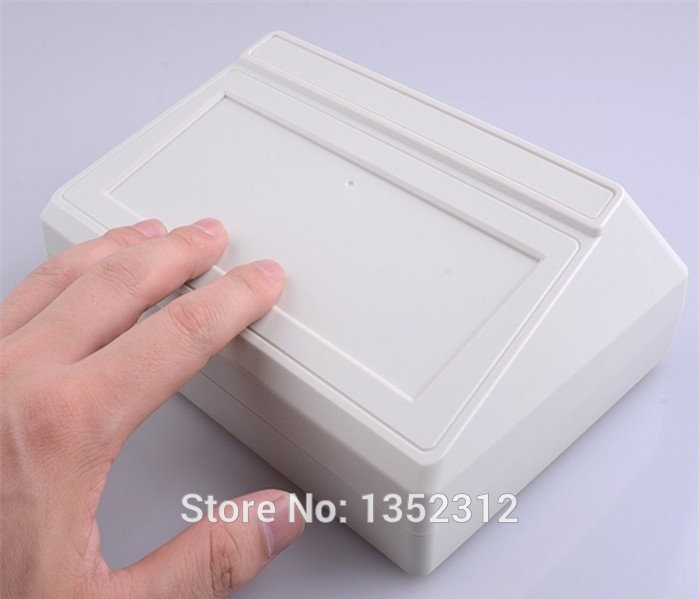 Free shipping 200*145*54mm one pcs IP55 waterproof plastic enclosure for electronic housing DIY project case instrumentation box