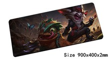Kled mouse pad 900x400mm pad mouse lol notbook computer mousepad Cantankerous Cavalier gaming padmouse gamer laptop mouse mats