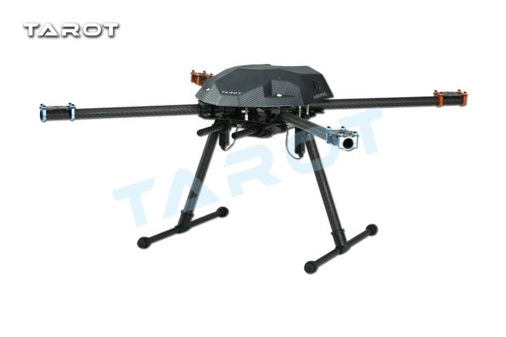 Tarot XS690 TL69A01 Sport Quadcopter avec TL69A02 Métal Électrique Rétractable Landing Gear Skid TL8X002 Contrôleur pour FPV DIY