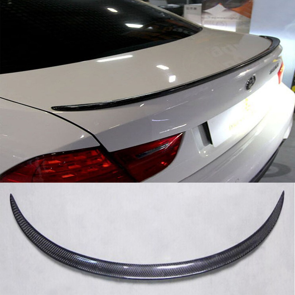 E90 M3 Carbon Fiber Car Trunk lip spoiler boot wing For BMW 2005-2012