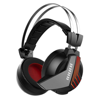 7.1 Surround Sound USB Headphones HUHD S2 Gaming Headphones Wireless Earphones Gaming Headset For PS4 PC Computer Laptop Gamers