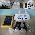 Новая энергия Солнечная Электрическая Система + 3 Вт Солнечных панелей + 3 шт. СВЕТОДИОДНЫЕ лампы крытый и наружного освещения солнечной светодиодные лампы аварийного света