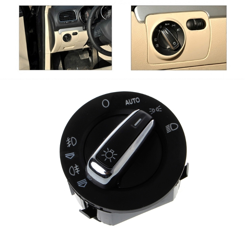 Window Headlight Mirror Switch Button For AUDI A6 S6 C6 RS6 A6 A3/S3 Q7 Auto Switches Car Interior Parts match original car