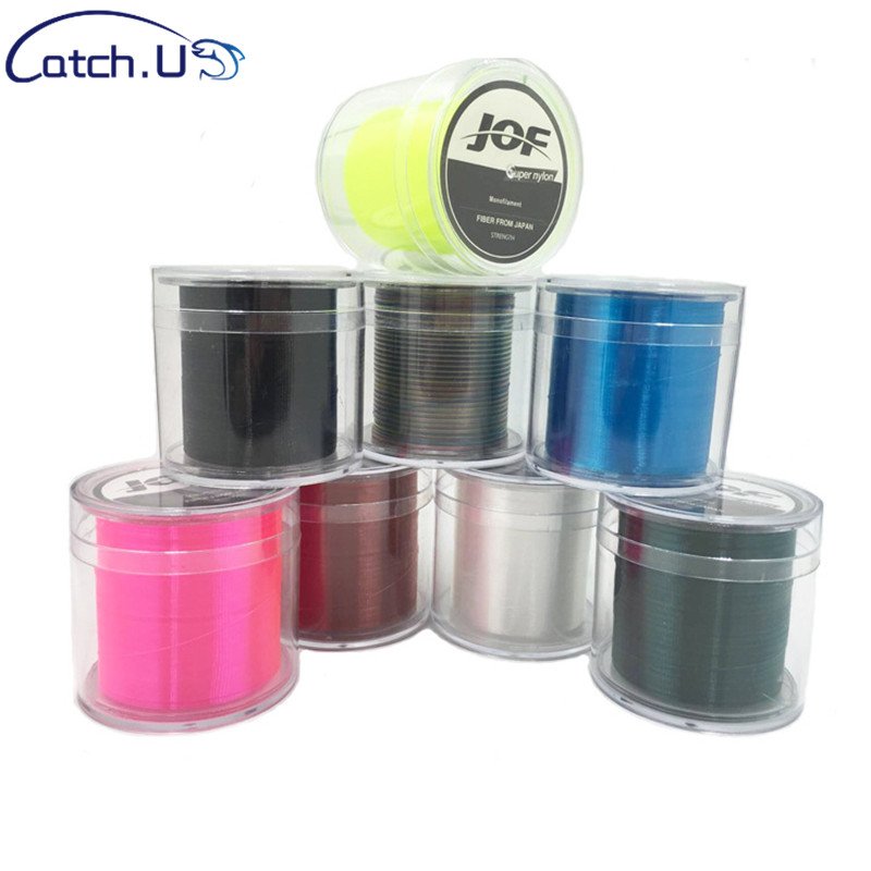 Catch.U Fishing Line 500M 1-8.0 Super Nylon Saltwater Line For Fishing Carp Fishing Lines Nylon Fishing Lines