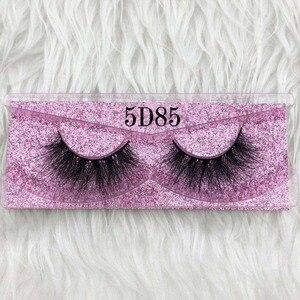 Image 4 - Mikiwi cílios grossos de vison 5d, feito a mão, full strip, rosa, dourado, cruelty free, sem crueldade animal, maquiagem de luxo, cílios dramáticos 3d