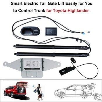 Smart Auto Elétrica Elevador Porta Traseira para Toyota Highlander 2015 Conjunto de Controle de Altura Evitar Pitada