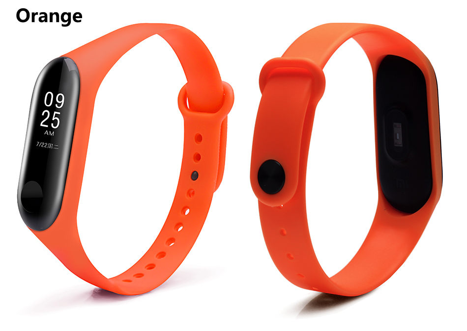 Bracelet for Xiaomi Mi Band 3 Sport Strap watch Silicone wrist strap For xiaomi mi band 3 accessories bracelet Miband 3 Strap 0042