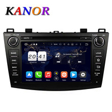 KANOR Octa Core Android 6.0 2G Car DVD Player For Mazda 3 2010-2012 With Multimedia GPS Navigator WIFI Radio Coche Audio