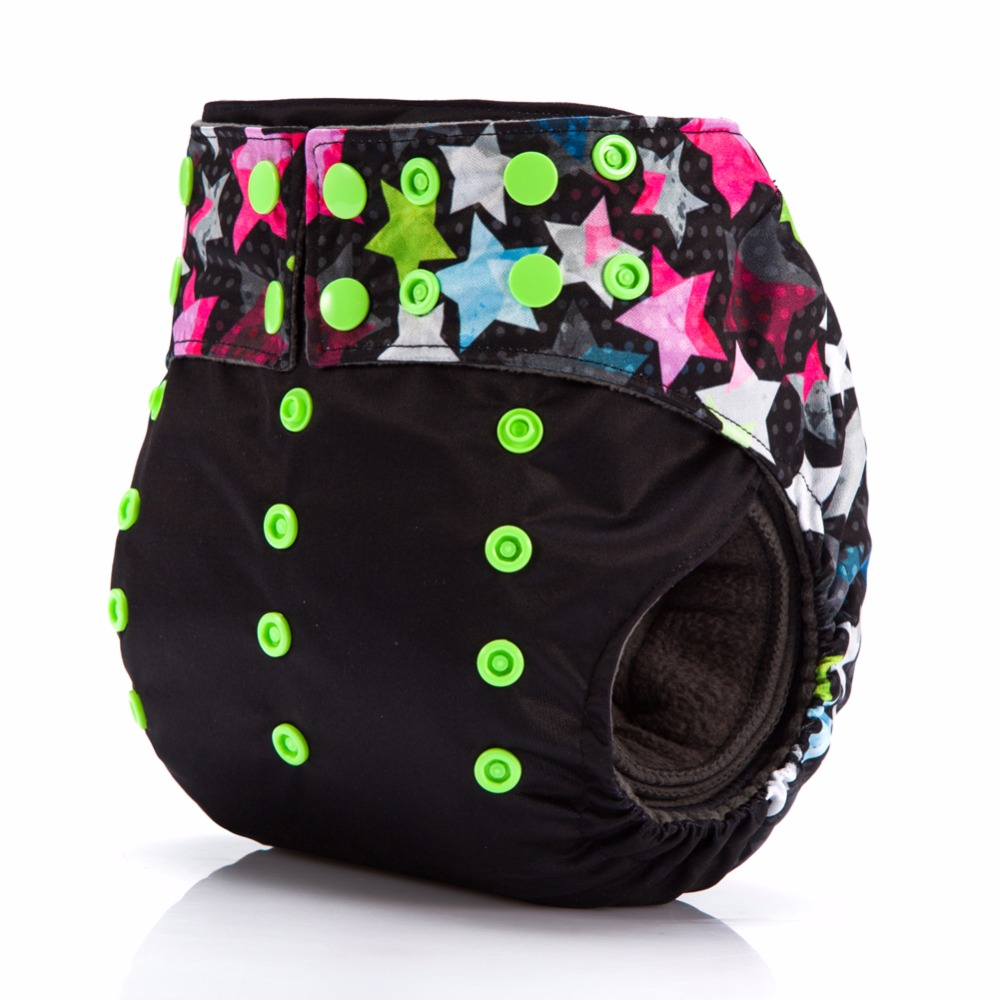 40PCS Wholesale JinoBaby Charcoal Bamboo Diaper AIO Cloth Diapers Reusable Baby Diapers