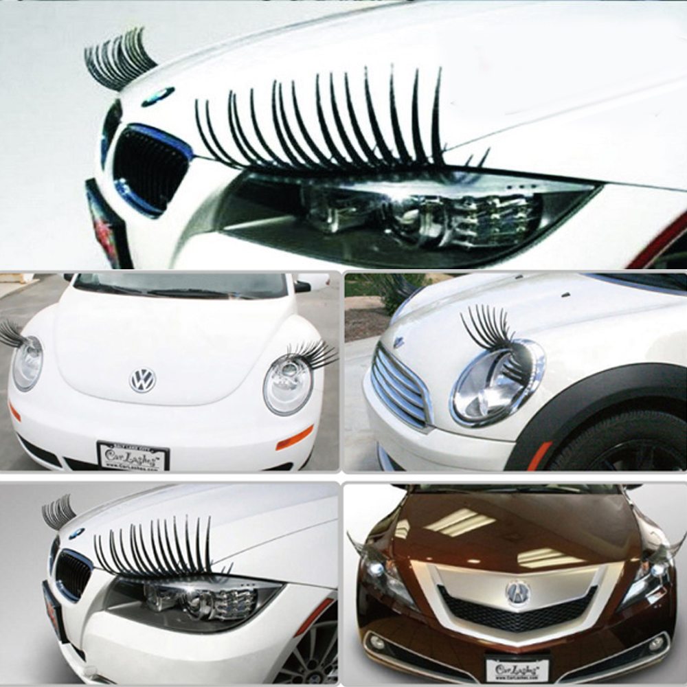 Looking for eyelashes for cars then visit our car eyelashes shop We offer the most innovative design of car lashes that fit any car in a range of colors