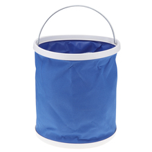 1 Pcs 11 L Portable Folding Bucket Collapsible Multifunctional Outdoor Basin For Boat Car Yacht Truck Etc