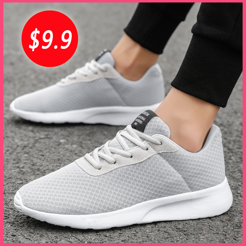 Men Casual Shoes Fashion Sneakers Light Shoes For Male Walking Jogging Mesh Trainers Zapatillas Hombre