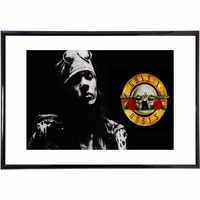 Guns N Roses Music Vintage Retro Posters and Prints Home Decoration Canvas Painting Modern Wall Art Picture Silk Fabric