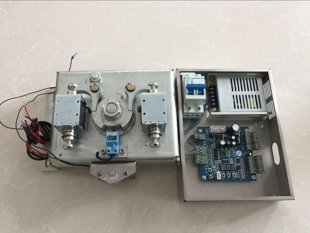 Halvautomatisk vridarmekanism med magnetventil (mekanism + - Säkerhet och skydd - Foto 3